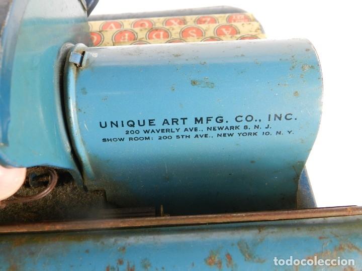 Antigüedades: MAQUINA DE ESCRIBIR UNIQUE AÑO 1946 TYPEWRITER SCRHEIBMASCHINE - Foto 4 - 183268553
