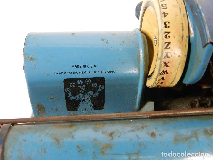 Antigüedades: MAQUINA DE ESCRIBIR UNIQUE AÑO 1946 TYPEWRITER SCRHEIBMASCHINE - Foto 6 - 183268553