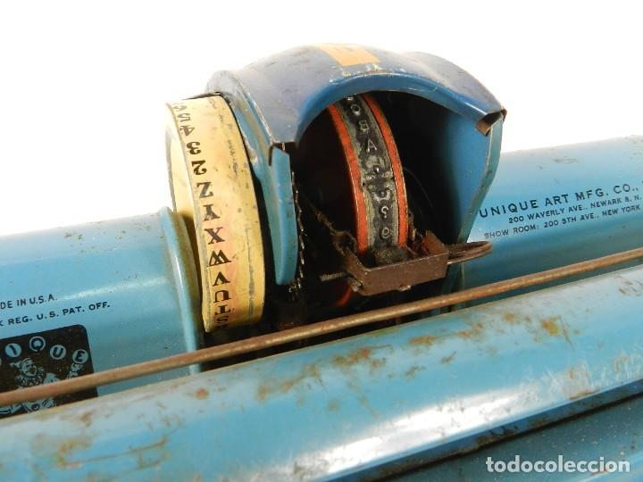 Antigüedades: MAQUINA DE ESCRIBIR UNIQUE AÑO 1946 TYPEWRITER SCRHEIBMASCHINE - Foto 7 - 183268553