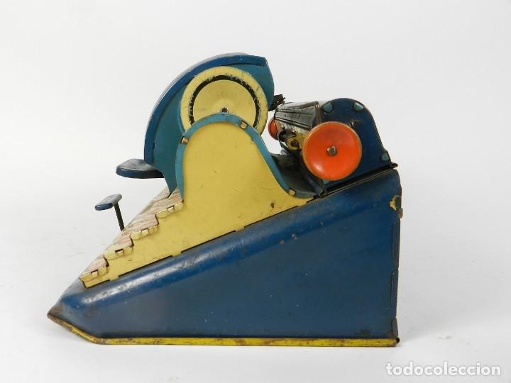 Antigüedades: MAQUINA DE ESCRIBIR UNIQUE AÑO 1946 TYPEWRITER SCRHEIBMASCHINE - Foto 8 - 183268553