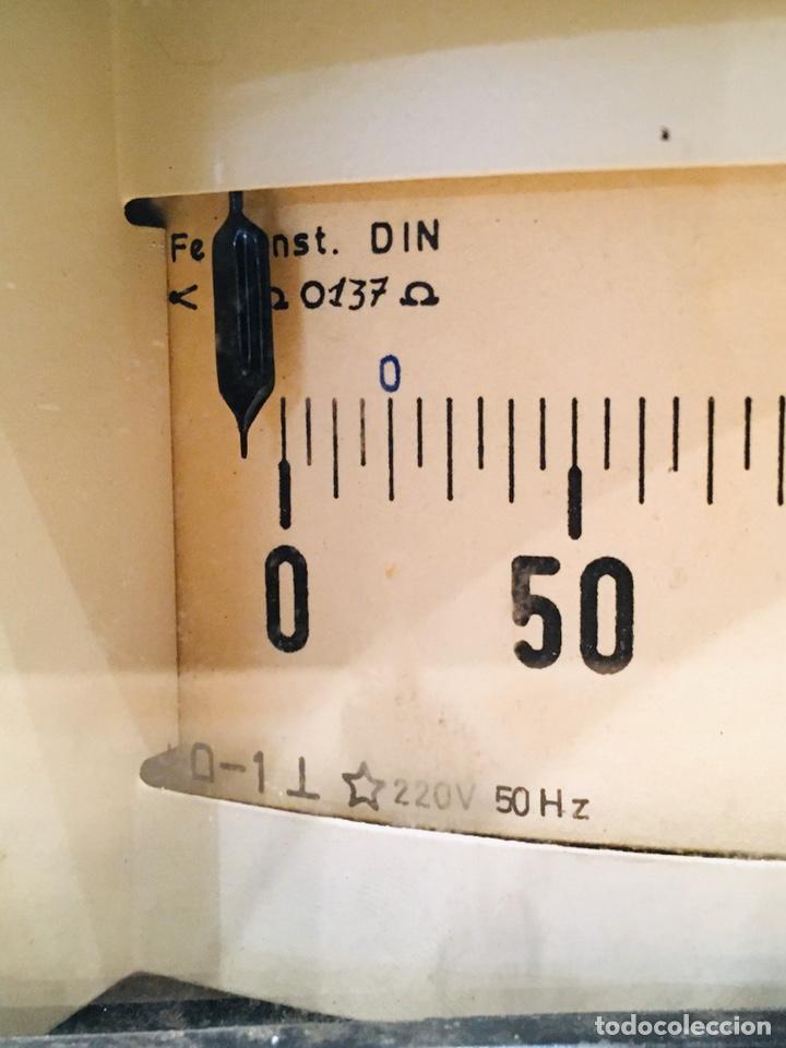 Antigüedades: APARATO MEDIDOR DE TEMPERATURA TRANSMETAL INSTRUMENTO ELÉCTRICO TERMÓMETRO - Foto 4 - 183293642