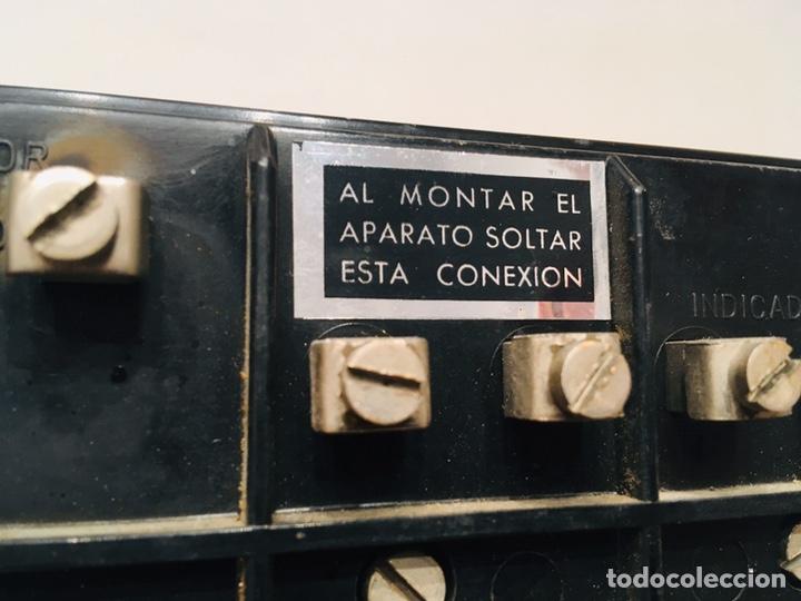 Antigüedades: APARATO MEDIDOR DE TEMPERATURA TRANSMETAL INSTRUMENTO ELÉCTRICO TERMÓMETRO - Foto 8 - 183293642
