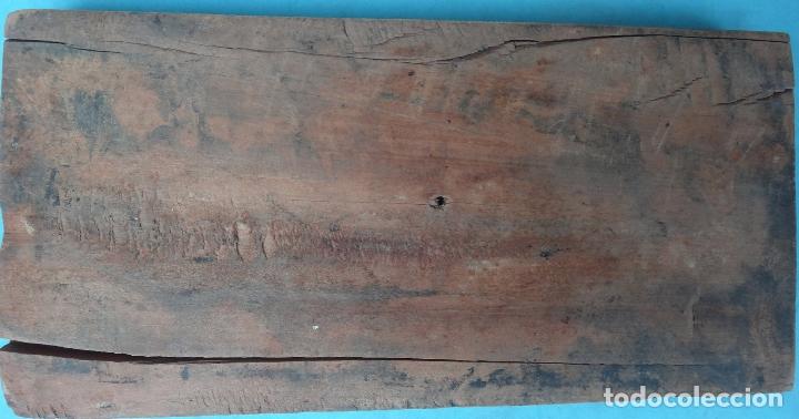 Antigüedades: FIGURAS PERSONAJES IMPRENTA MADERA DE BOJ GRAN GRABADO SIGLO XIX 12 x 25 CMS. , ORIGINAL - Foto 2 - 183324902