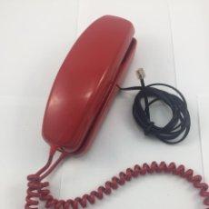 Teléfonos: ANTIGUO TELEFONO DE GONDOLA ROJO. Lote 183330362