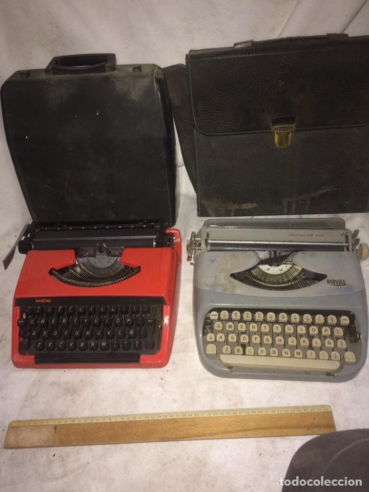 DOS MAQUINAS DE ESCRIBIR ANTIGUAS! (Antigüedades - Técnicas - Máquinas de Escribir Antiguas - Royal)