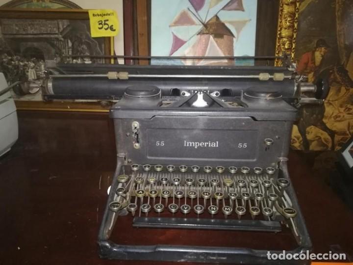 MAQUINA DE ESCRIBIR ANTIGUA (Antigüedades - Técnicas - Máquinas de Escribir Antiguas - Otras)