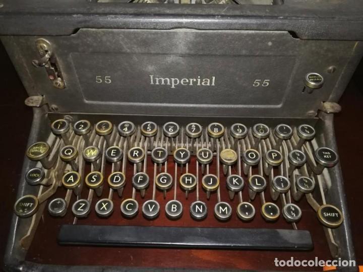 Antigüedades: Maquina de escribir antigua - Foto 2 - 183363330