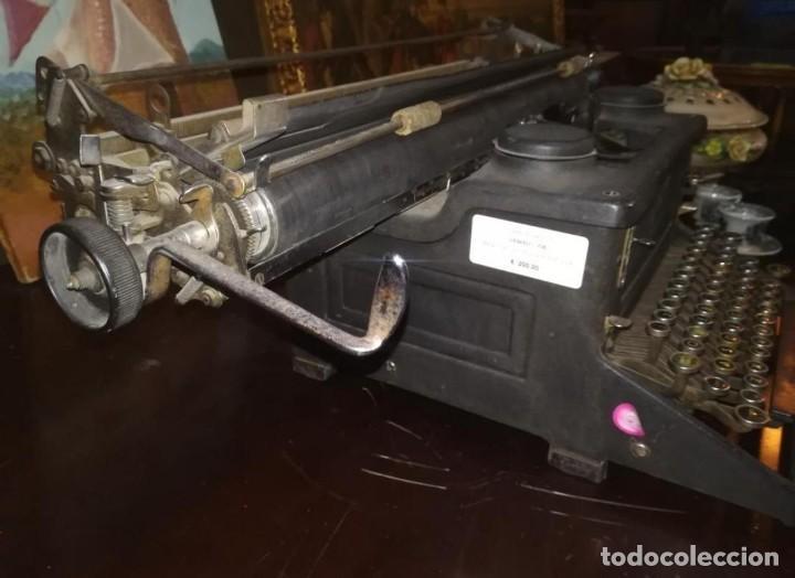 Antigüedades: Maquina de escribir antigua - Foto 5 - 183363330