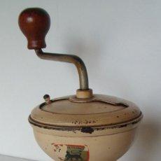 Antigüedades: MOLINILLO DE CAFÉ FRANCÉS, MARCA PEUGEOT, MODELO DIABOLO. CA. 1952/1956. Lote 183370175