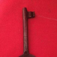 Antigüedades: LLAVE PARA CERRADURA ANTIGUA.. Lote 183371143