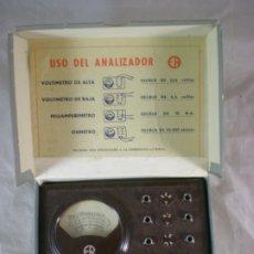 Antigüedades: ANALIZADOR ER BAQUELITA - E.R. VOLTIMETRO ALTA/BAJA, MILIAMPERIMETRO, OHMETRO. Lote 183378648