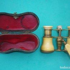 Antigüedades: MUY ANTIGUOS GEMELOS DE OPERA. JUMELLE DUCHESSE. HACIA 1860. ANTIQUE OPERA GLASSES. Lote 183392067
