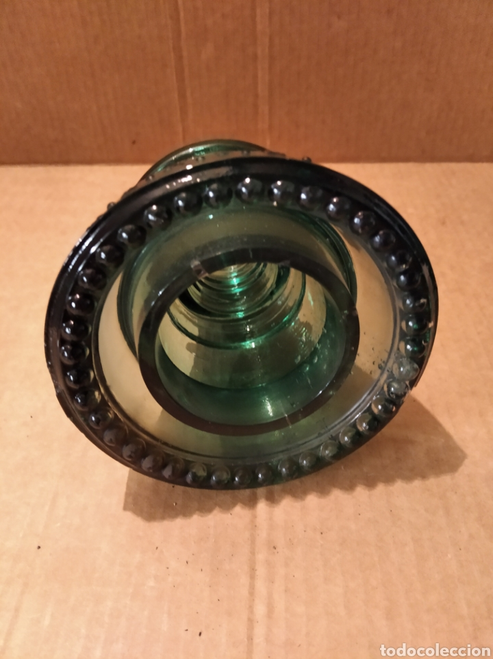 Antigüedades: Jícara de vidrio - Foto 2 - 183397165