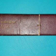Antigüedades: REGLA DE CALCULO BEDAUX. Lote 183405245