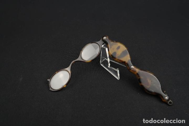 ANTIGUAS GAFAS IMPERTINENTES SIMIL CAREY (Antigüedades - Técnicas - Instrumentos Ópticos - Gafas Antiguas)