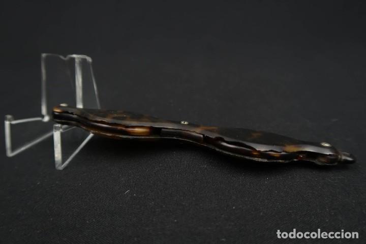Antigüedades: Antiguas Gafas Impertinentes simil Carey - Foto 4 - 183406172