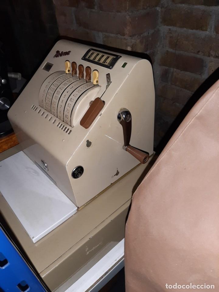 Antigüedades: caja registradora norma , muy buen estado - Foto 2 - 183411473