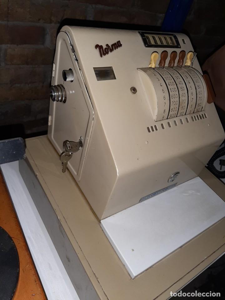 Antigüedades: caja registradora norma , muy buen estado - Foto 3 - 183411473