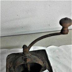 Antigüedades: 2 MOLINILLOS DE CAFE ANTIGUO ABIERTO PARA RESTAURAR. Lote 183438487