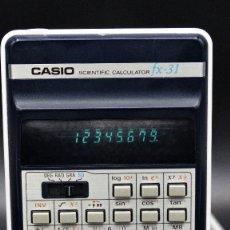 Antigüedades: CALCULADORA SCIENTIFIC CASIO FX-31, VINTAGE, AÑO DE LANZAMIENTO - 1978. Lote 183438937