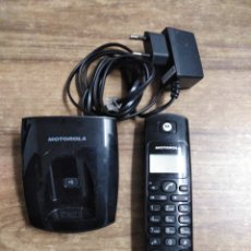 Teléfonos: MFF.- TELEFONO INALAMBRICO MOTOROLA.MOD. D101 ES DIGITAL CORDLESS.- SOPORTE DE SOBREMESA CON. Lote 183470823