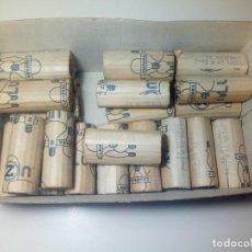 Antigüedades: LOTE 23 BOMBILLAS 220 -230 V 25 W EDMING TUBULAR 22. Lote 183537747
