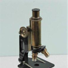 Antigüedades: MICROSCOPIO BAUSCH & LOMB, AÑOS 20, NÚMERO DE SERIE 87184. Lote 183545778