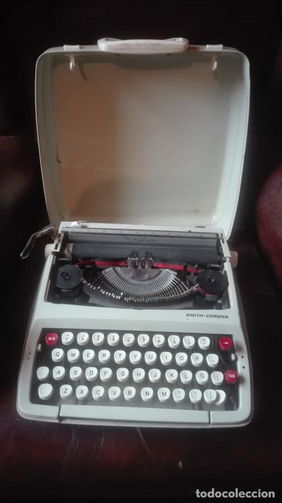 MÁQUINA DE ESCRIBIR SMITH CORONA (Antigüedades - Técnicas - Máquinas de Escribir Antiguas - Smith)