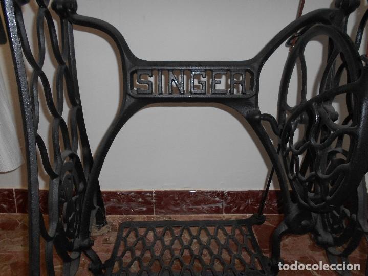 Antigüedades: MÁQUINA DE COSER SINGER - Foto 3 - 183566367
