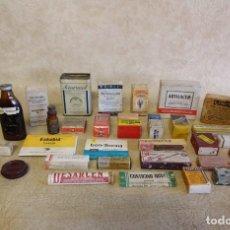 Antigüedades: LOTE DE ANTIGUOS MEDICAMENTOS AÑOS 60. Lote 183584683
