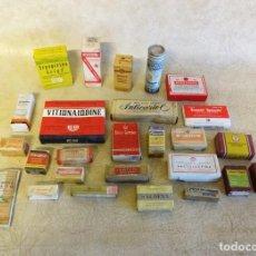 Antigüedades: LOTE DE ANTIGUOS MEDICAMENTOS AÑOS 60. Lote 183585676