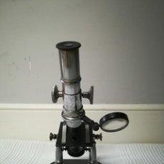 Antigüedades: MICROSCOPIO ANTIGUO. Lote 183602493