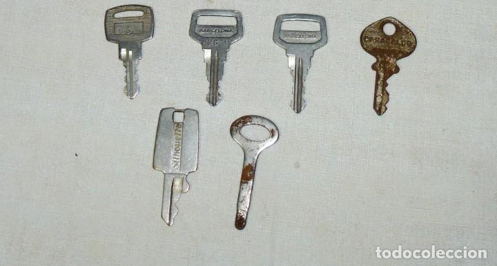 Antigüedades: Lote de 17 llaves hierro y bronce. - Foto 3 - 183609567