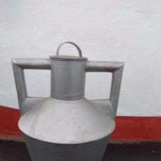 Antigüedades: CÁNTARO DE METAL. Lote 183610307