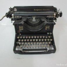 Antigüedades: MAQUINA DE ESCRIBIR - HISPANO OLIVETTI, M40 - FABRICADA EN ESPAÑA - HIERRO - AÑO 1930. Lote 183634287