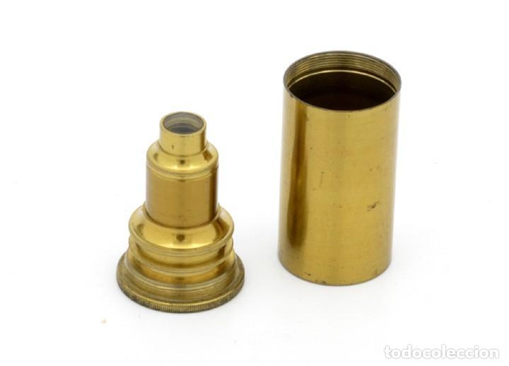 Antigüedades: Objetivo microscopio antiguo J. H. Steward (c.1870) - Foto 2 - 183654822