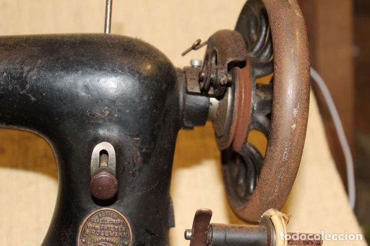 Antigüedades: maquina de coser con caja - Foto 4 - 183659578