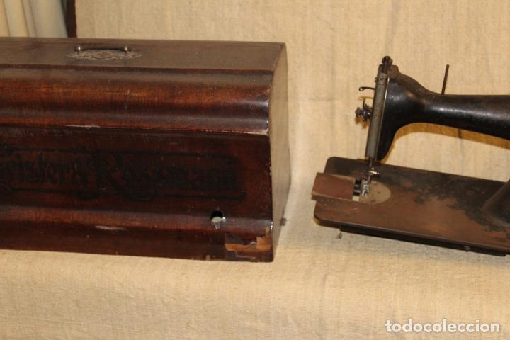 Antigüedades: maquina de coser con caja - Foto 7 - 183659578