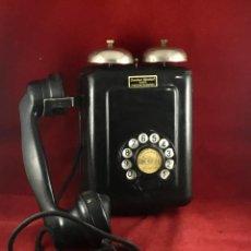 Teléfonos: ANTIGUO TELÉFONO ESPAÑOL METAL Y BAQUELITA, 5509A, DE STANDARD ELÉCTRICA, PARA LA CTNE.. Lote 183659866