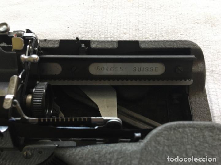 Antigüedades: Máquina de escribir Hermes Baby - Foto 5 - 183666618