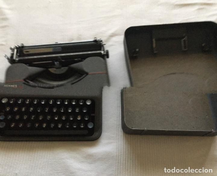Antigüedades: Máquina de escribir Hermes Baby - Foto 6 - 183666618