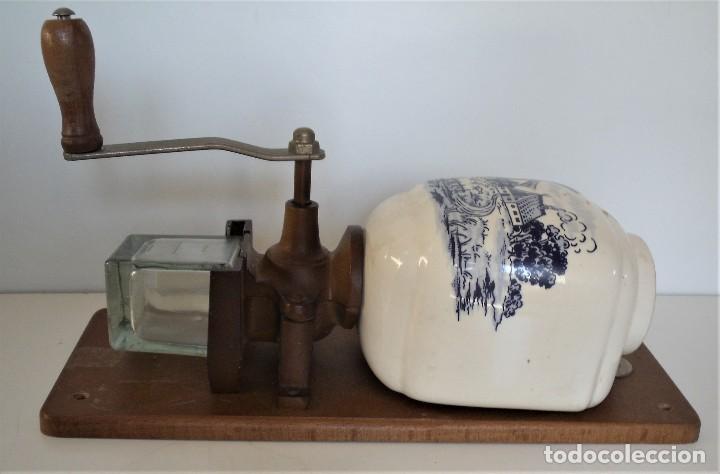 Antigüedades: MOLINILLO DE CAFÉ MURAL MARCA TRÖSSER. MODELO 1005. ALEMANIA. CA. 1955/1965 - Foto 5 - 183681216