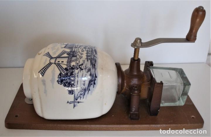 Antigüedades: MOLINILLO DE CAFÉ MURAL MARCA TRÖSSER. MODELO 1005. ALEMANIA. CA. 1955/1965 - Foto 6 - 183681216