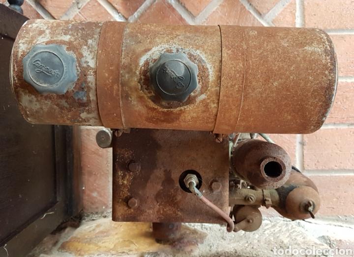 Antigüedades: Antiguo y magnífico motor campeón fabricación española con instrucciones completo zxy - Foto 2 - 183699856
