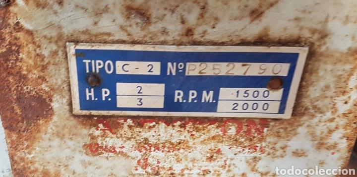 Antigüedades: Antiguo y magnífico motor campeón fabricación española con instrucciones completo zxy - Foto 5 - 183699856