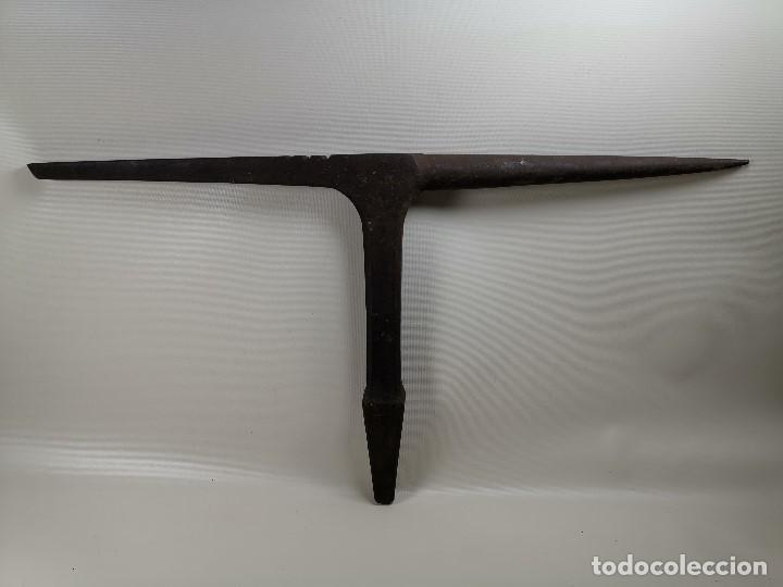 Antigüedades: ESPLENDIDO YUNQUE DE CUERNOS BIGORNIA HOJALATERO CHAPISTA..luckhaus & Gunther ALEMANIA SIGLO - Foto 12 - 183701302