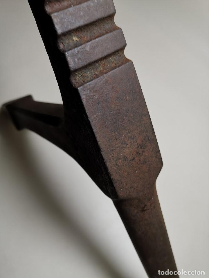 Antigüedades: ESPLENDIDO YUNQUE DE CUERNOS BIGORNIA HOJALATERO CHAPISTA..luckhaus & Gunther ALEMANIA SIGLO - Foto 23 - 183701302