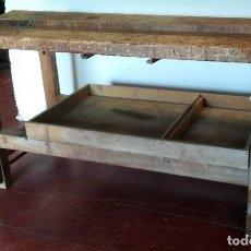 Antigüedades: BANCO DE CARPINTERO ANTIGUO . Lote 183704061