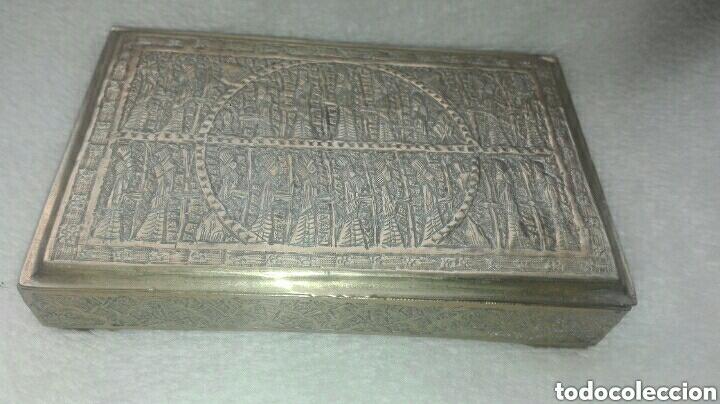 Antigüedades: ANTIGUA BALANZA DE PRECISIÓN DE ORIGEN INGLÉS PARA METALES PRECIOSOS. - Foto 6 - 183705906