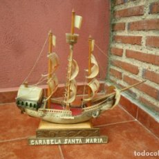 Antigüedades: BARCO - CARABELA - SANTA MARÍA - DE ASTA - ANTIGUA. Lote 183709957